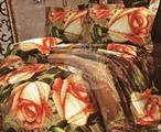 3D сатин комплект постельного белья